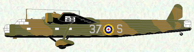 Harrow of No 37 Squadron (Pre-Munich)