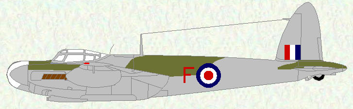 Mosquito NF Mk 36 of No 39 Squadron