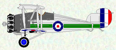 Hawker Woodcock of No 3 Squadron