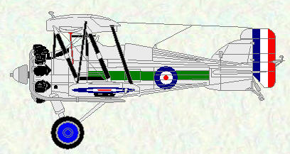 Gloster Gamecock of No 3 Squadron