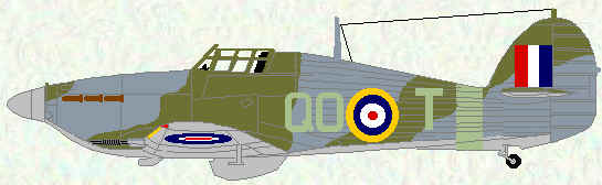Hurricane IIC of No 3 Squadron (September 1941)
