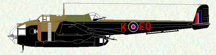 Hampden I of No 408 Squadron