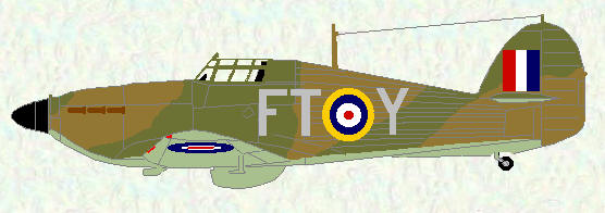 Hurricane I of No 43 Squadron