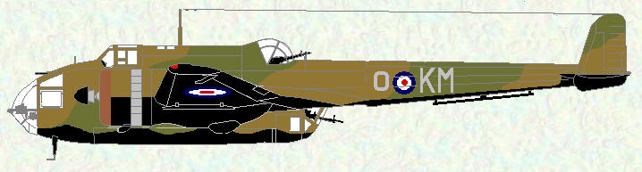 Hampden I of No 44 Squadron