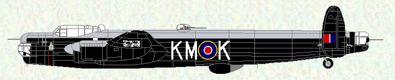 Lincoln B Mk 2 of No 44 Squadron