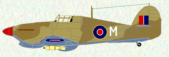 Hurricane IIC of No 451 Squadron