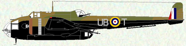 Hampden I of No 455 Squadron