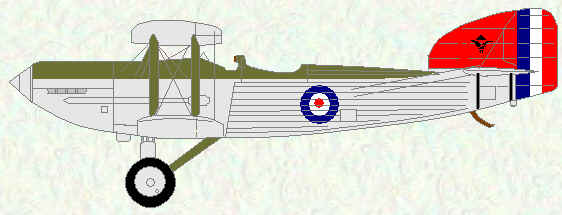 Fairey IIIF of No 47 Squadron (landplane)