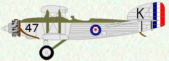 Gordon I (Landplane) of No 47 Squadron