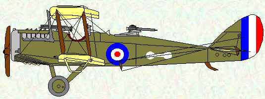 DH4 of No 49 Squadron