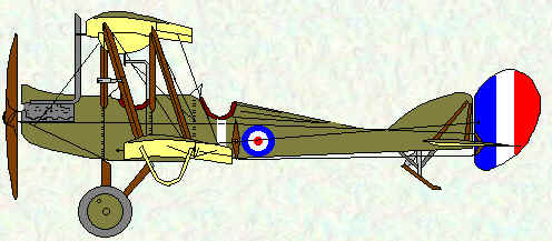 BE2d of No 4 Squadron