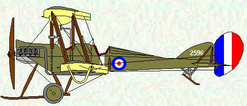 BE2c of No 4 Squadron
