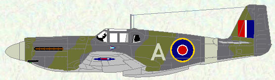 Mustang I of No 4 Squadron