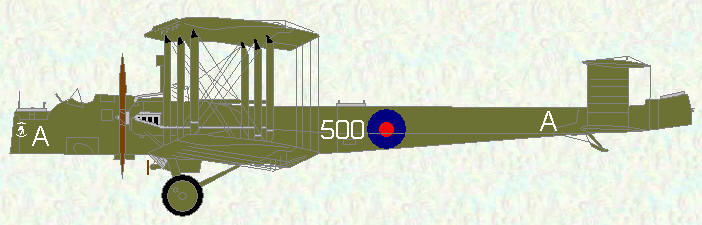 Virginia X of No 500 Squadron
