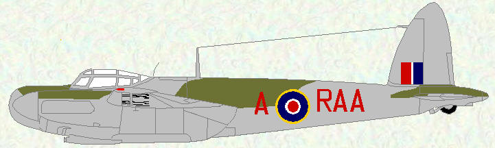Mosquito NF Mk 30 of No 500 Squadron