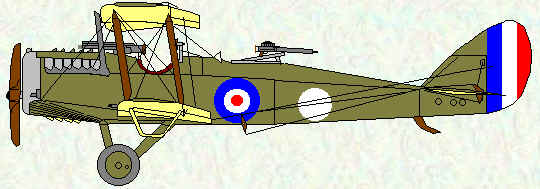 DH4 of No 57 Squadron