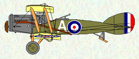 Bristol F2B of No 5 Squadron (WW1)