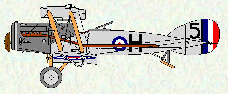 Bristol F2B of No 5 Squadron (Post WW1)