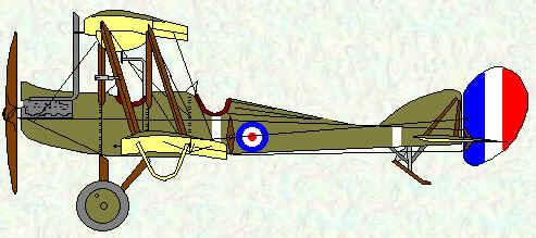 BE2d of No 5 Squadron