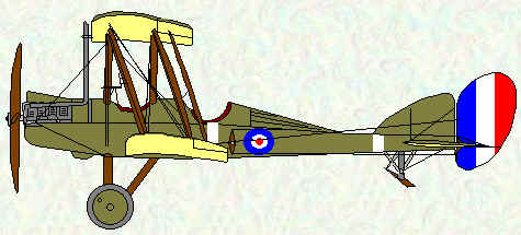 BE2e of No 5 Squadron