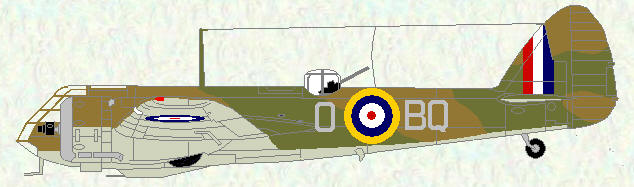 Blenheim IF of No 600 Squadron