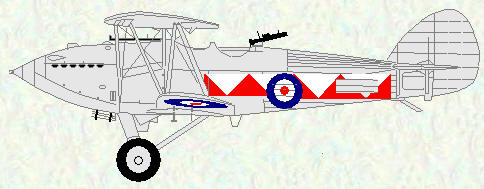 Hawker Hart of No 600 Squadron