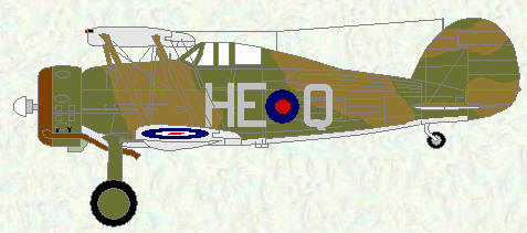 Gladiator II of No 605 Squadron