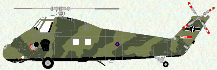 Wessex HC Mk 2 of No 60 Squadron