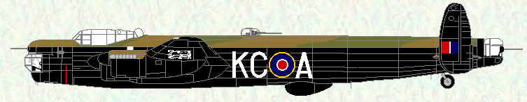 Lincoln B Mk 2 of No 617 Squadron