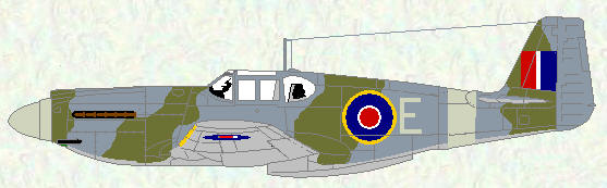 Mustang I of No 63 Squadron