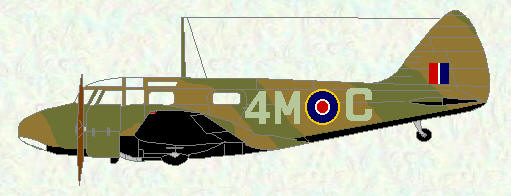 Oxford of No 695 Squadron