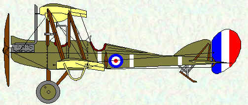 BE2d of No 6 Squadron