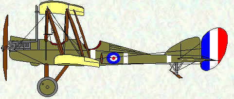 BE2e of No 6 Squadron