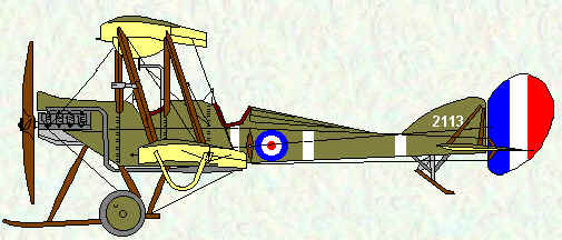 BE2c of No 6 Squadron