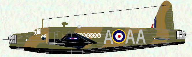 Wellington IA of No 75 Squadron
