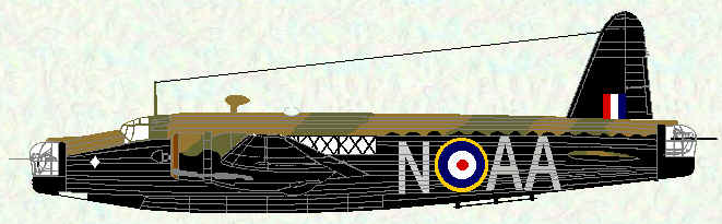 Wellington IC of No 75 Squadron