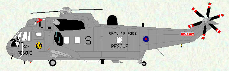 Sea King HAR Mk 3 of No 78 Squadron