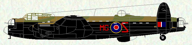 Lancaster III of No 7 Squadron (1943)