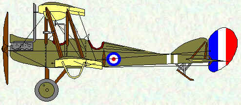 BE2d of No 7 Squadron