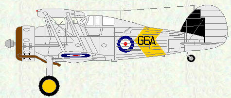 Sea Gladiator I of No 802 Squadron