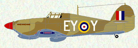 Hurricane IIC of No 80 Squadron