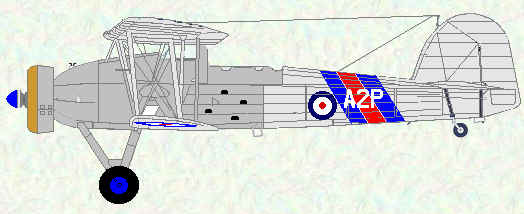Swordfish I of No 810 Squadron (HMS Ark Royal 1938 - 1939)