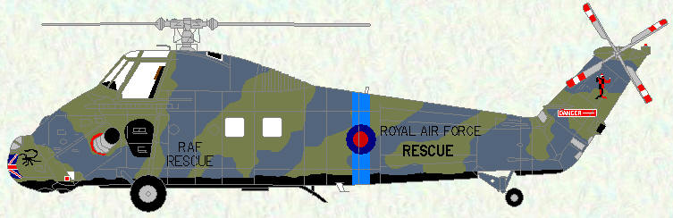 Wessex HC Mk 2 of No 84 Squadron