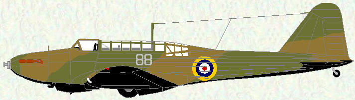 Battle I of No 88 Squadron (pre-Munich markings)