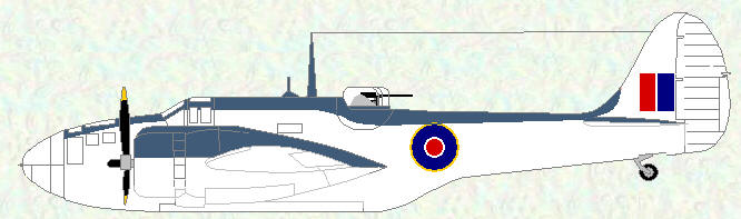 Baltimore V as used by No 680 Squadron