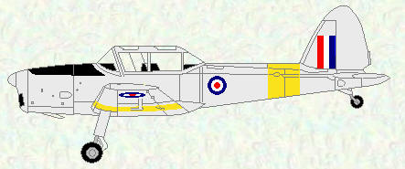Chipmunk T Mk 10 - original markings