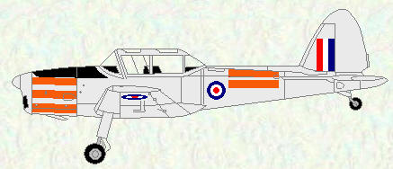 Chipmunk T Mk 10 - 'day-glo' trainer scheme
