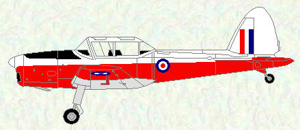 Chipmunk T Mk 10 - final red/white trainer scheme