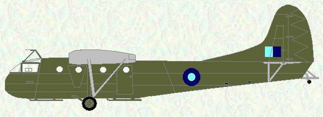 Hadrian as used by No 668 Squadron