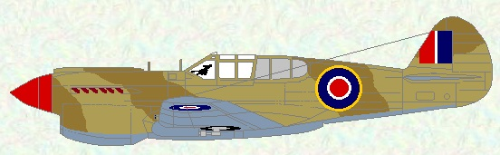Kittyhawk I as used by No 94 Squadron